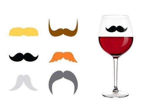 Mustache-glass