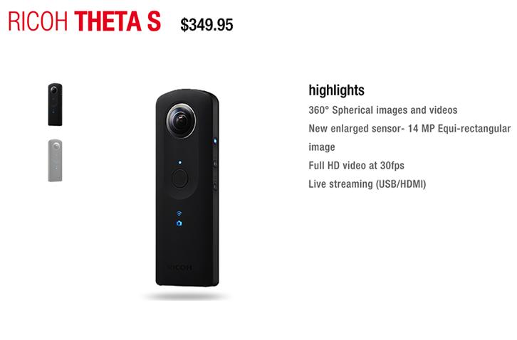 Ricoh Theta S 360 Degree Experience Ricoh Imaging